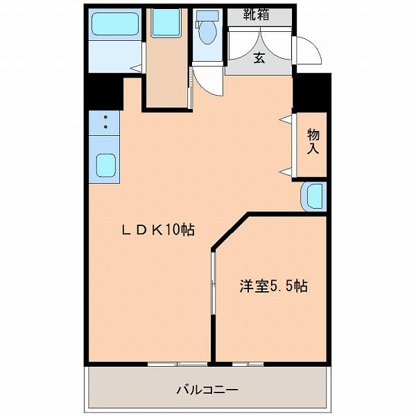 オーシャンハイツ桜ヶ丘(3号室)