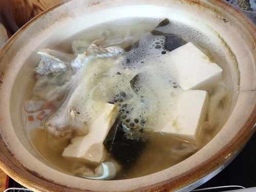 62ふぐ入り湯豆腐