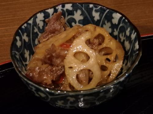 05牛肉とれんこんの甘辛煮
