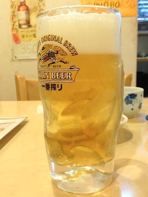 22生ビール枝豆