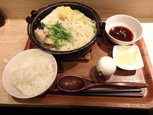 06みつせ鶏の水炊き鍋定食