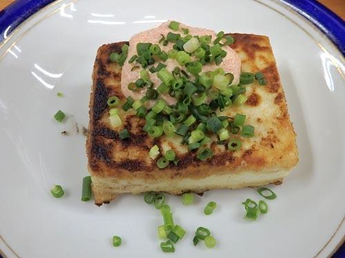 16焼き豆腐明太子味