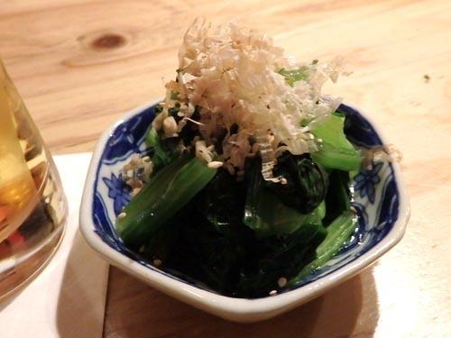 23小松菜おひたし