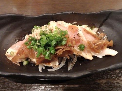 23鶏たたきと生姜の佃煮