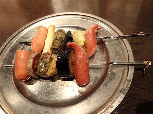 25ウインナーと野菜の串180