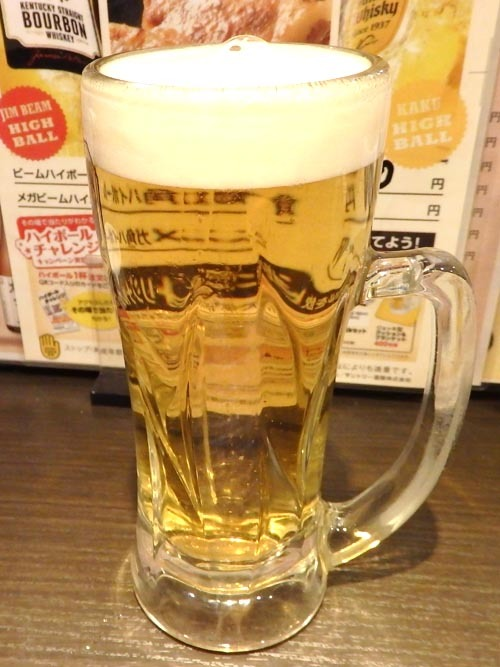 22生ビール