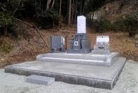 墓石施工完了