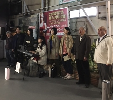 駅うた(熊本地震から1年)