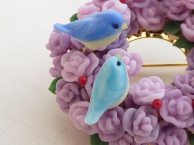 20170325バラと青い鳥4