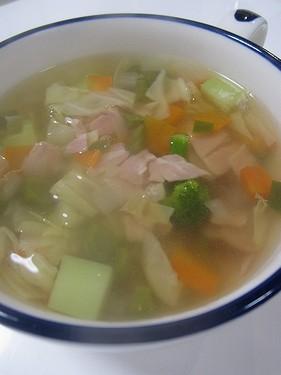 20170210 コンソメスープ