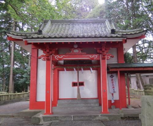 水神社拝殿