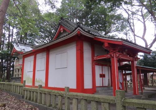 水神社全景