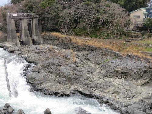 水神溶岩流上流