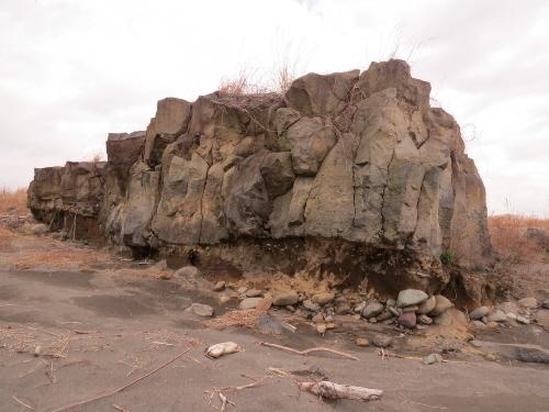 水神溶岩流中中流