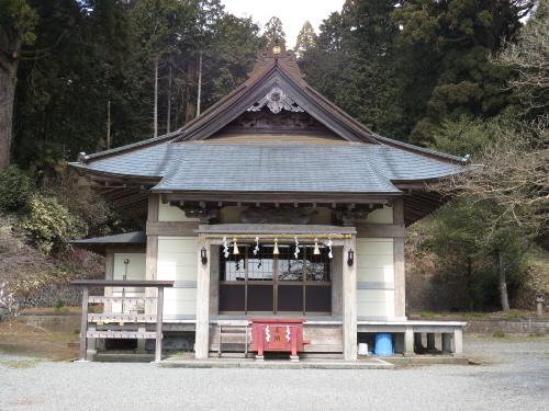 村山浅間神社拝殿