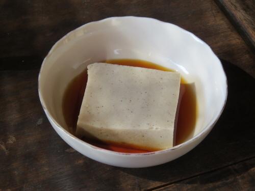 どあひそば豆腐