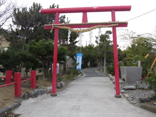 鈴川の富士塚とりい
