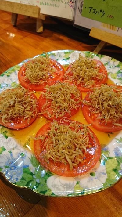 じゃこトマト