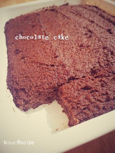 おからチョコケーキ2