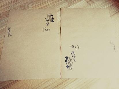クラフトポチ袋①