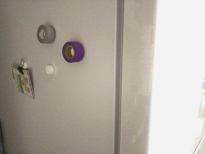 冷蔵庫側面①