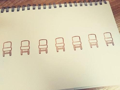 椅子はんこ②