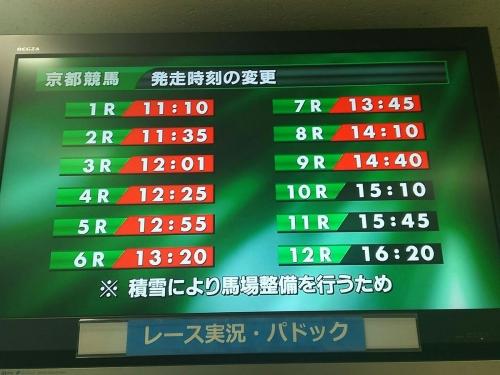 【競馬】発走時刻の変更1600→1601 ←これどゆこと?