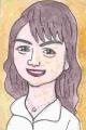 1原 日出子は、日本の女優、タレント