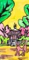4興福寺北円堂ねこ