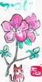 4花卉の絵手紙(6)