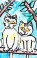 5ネコ迷画ミミズクの柵