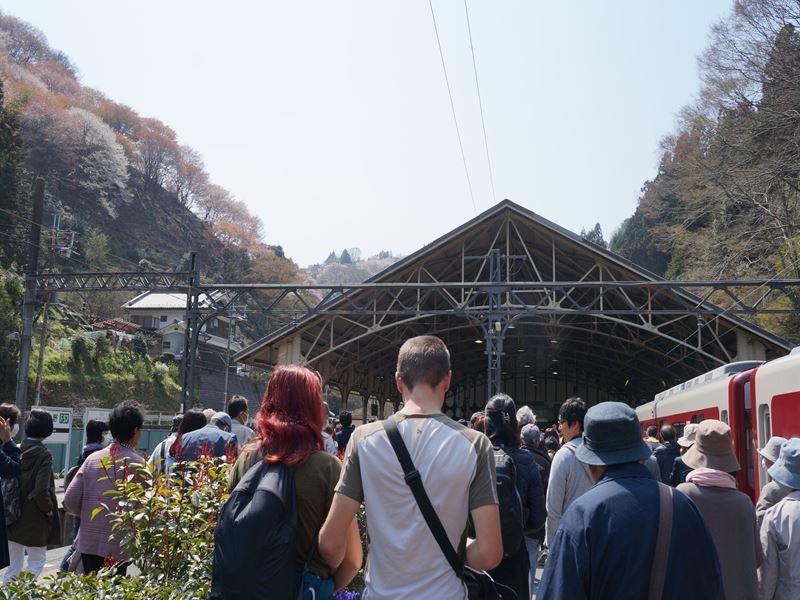 吉野駅ホーム