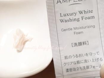 アンプルール洗顔料