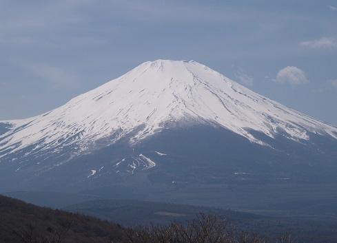 29年春の富士山