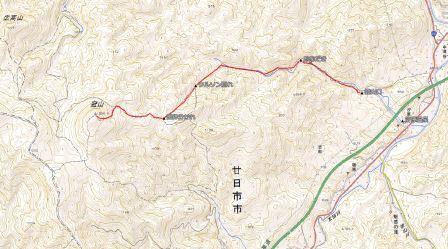 冠山 地図