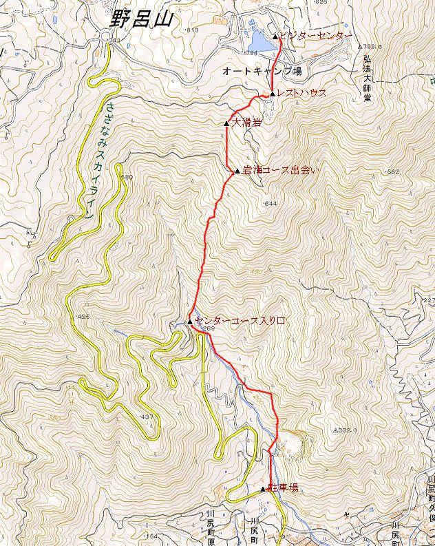 野呂山地図 2