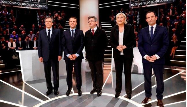 20170328フランス大統領選候補者s