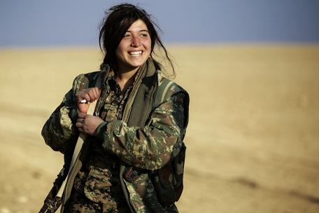 20170420ISと闘うクルド人女性兵士
