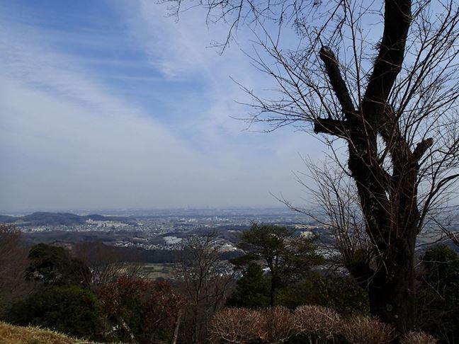 p 白山展望台から