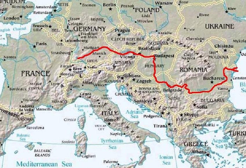 ドナウ河Danubemap[1]