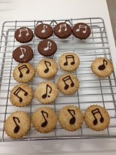 音符クッキー