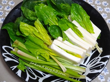 なんとなく02-23 超時短 野菜中心 の 朝兼ランチ 2