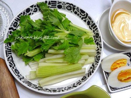 なんとなく02-28 鍋風な鶏汁で野菜いっぱい食べる作戦 4