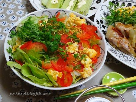 なんとなく04-23 はじめての パリ麺サラダ 2