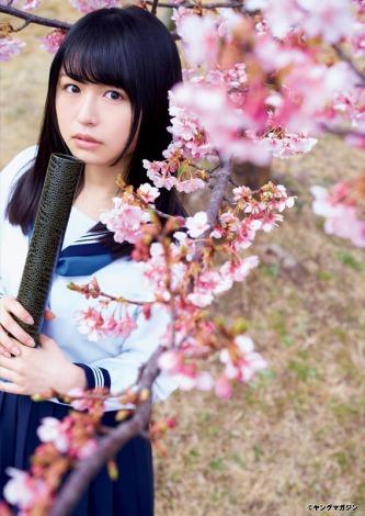 長濱ねる 2017 桜