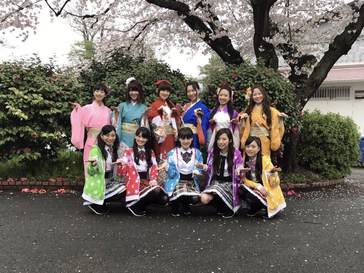 2017 桜 チームしゃちほこ 名古屋城 春の陣にて