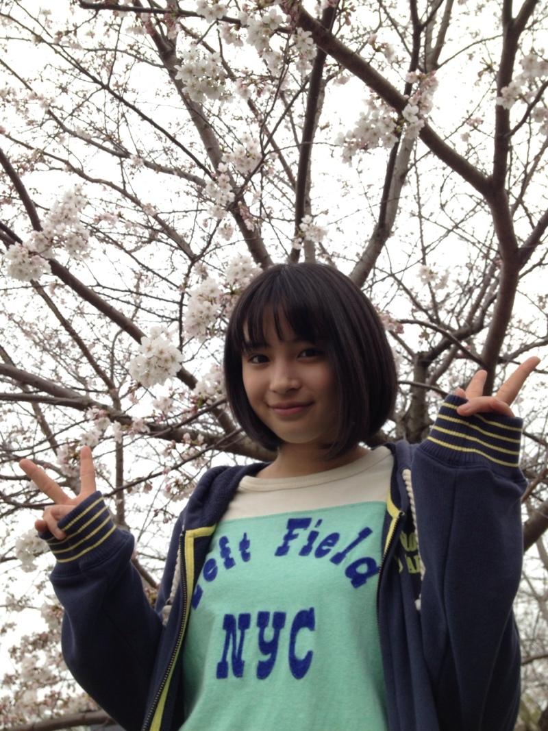 広瀬すず 2017 桜