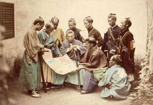 戊辰戦争中の薩摩藩の藩士