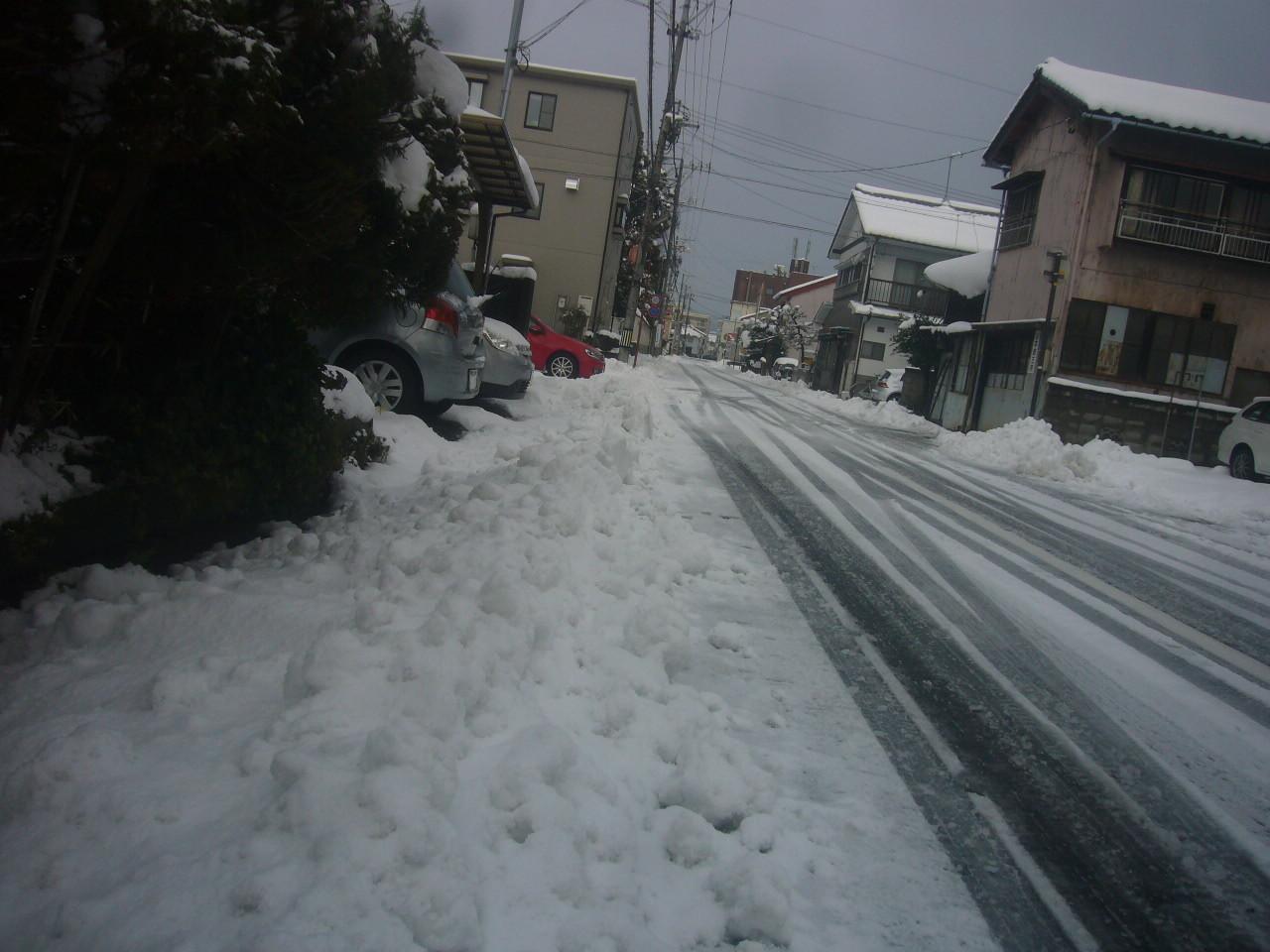 余計な除雪 H29.2.12
