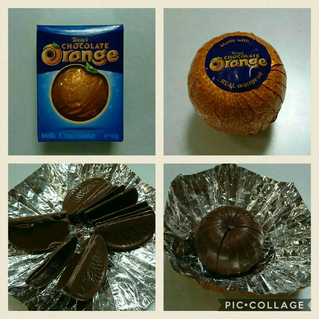 テリーズオレンジチョコ